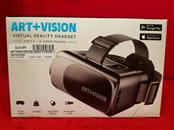 """Art Vision Virtual Reality Headset for 3.5""""-6"""" Smartphones"""